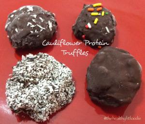 Cauliflower Protein Truffles