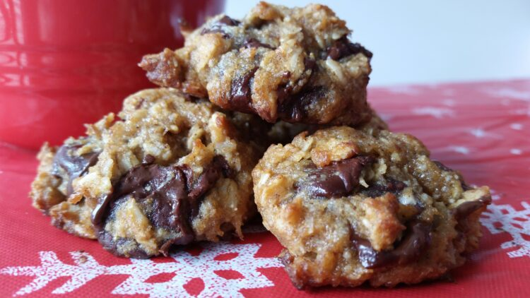 Gluten Free Dark Chocolate Chip Cookies