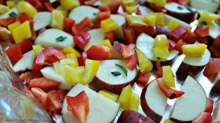 Turkey Kielbasa Potato Dish