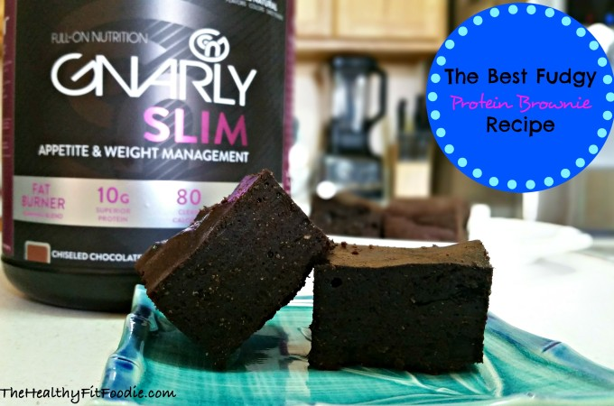 The Best Protein Brownie Recipe