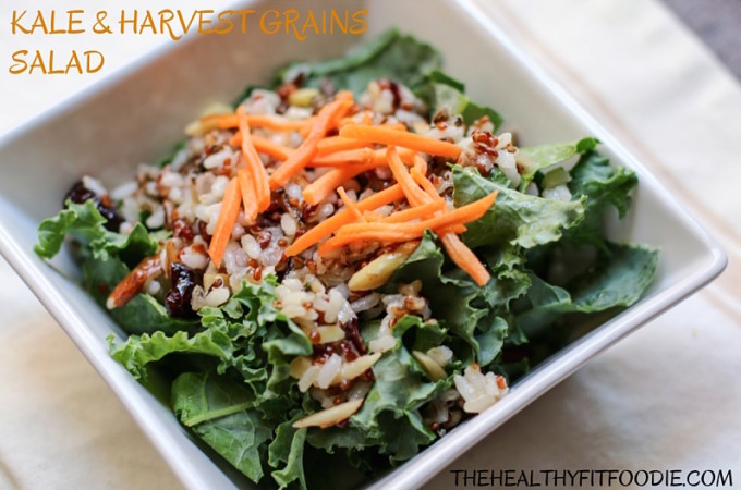 Kale and Harvest Grains Salad