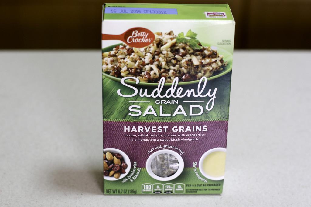 Kale and harvest grains salad, suddenly grain salad, suddenly grain salad review