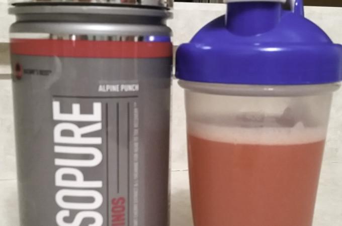 Isopure aminos