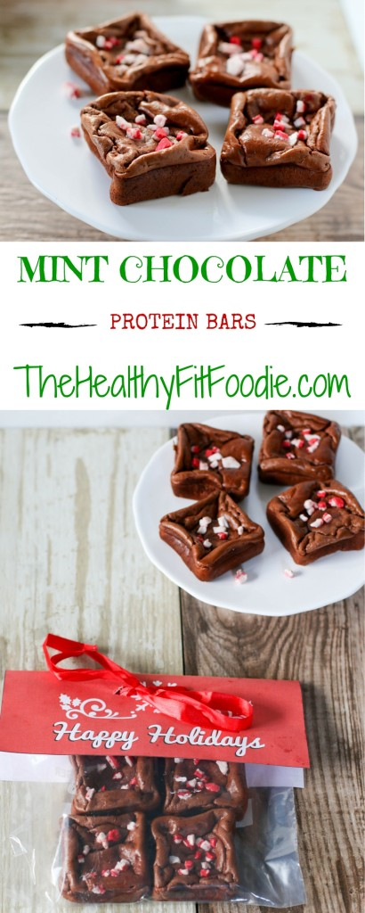 Chocolate Mint Protein Bars