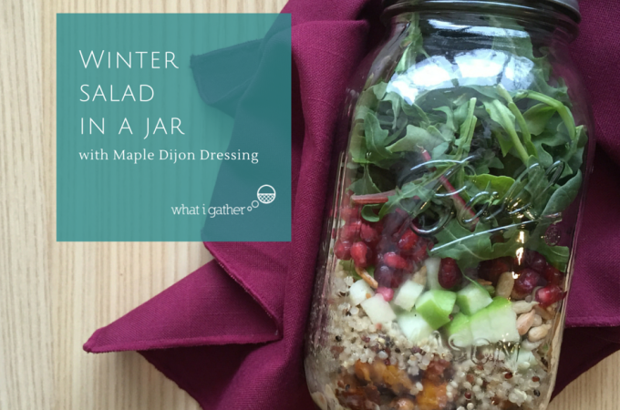 Winter Salad in a Jar