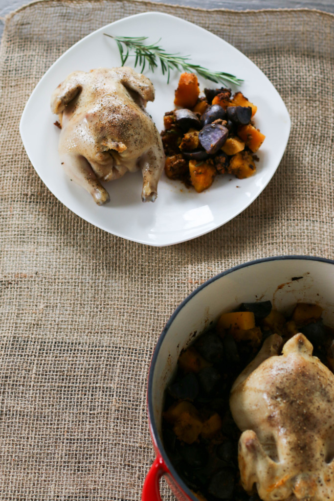 how to cook cornish hens in a dutch oven