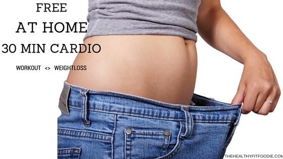 FREE AT HOME 30 MINUTE CARDIO WORKOUT