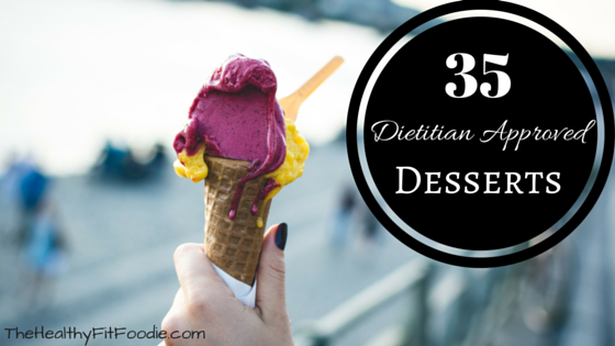 dietitian approved desserts