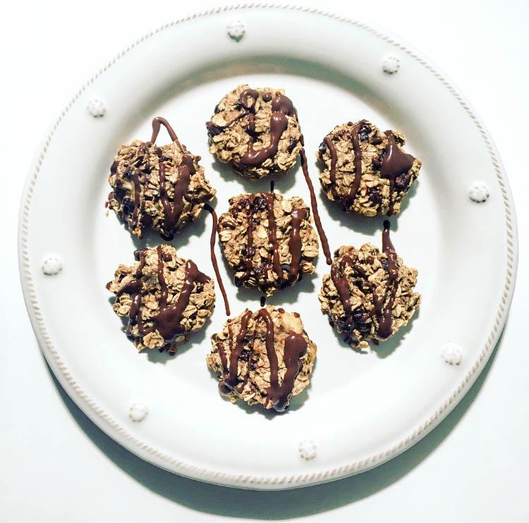 5 ingredient cookies, healthy cookies with few ingredients