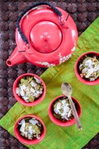 Matcha-Rice-Pudding