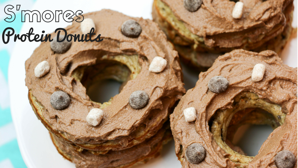 S'mores Protein donut recipe