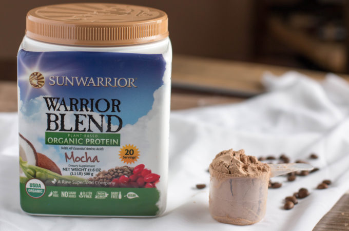 Wakeup Morning Smoothie + Sunwarrior Mocha Warrior Blend Review