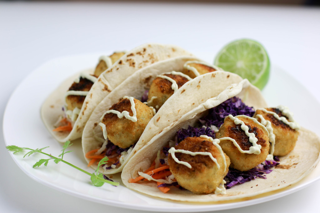Crabless Vegan Tacos