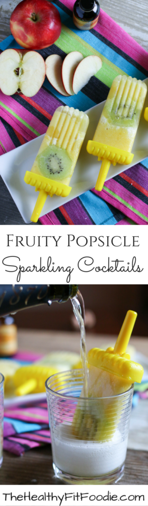 Fruity Popsicle Sparkling Cocktails #BrunchWeek