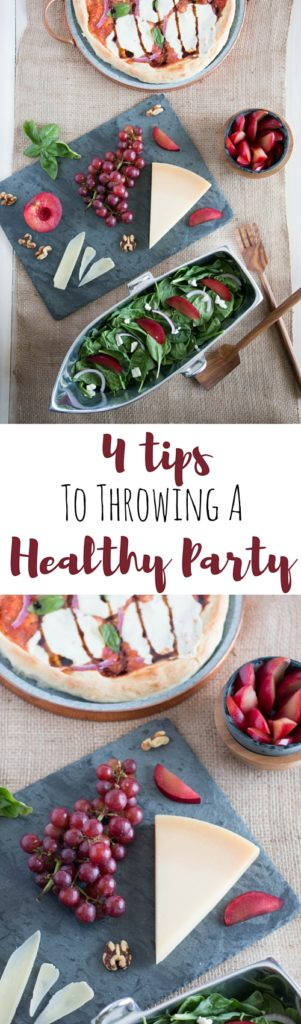 tip to throwing a healthy party