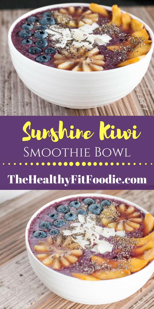 Sunshine Kiwi Smoothie Bowl