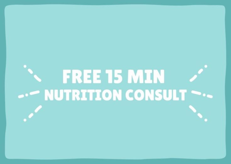 free 15 minute nutrition consult