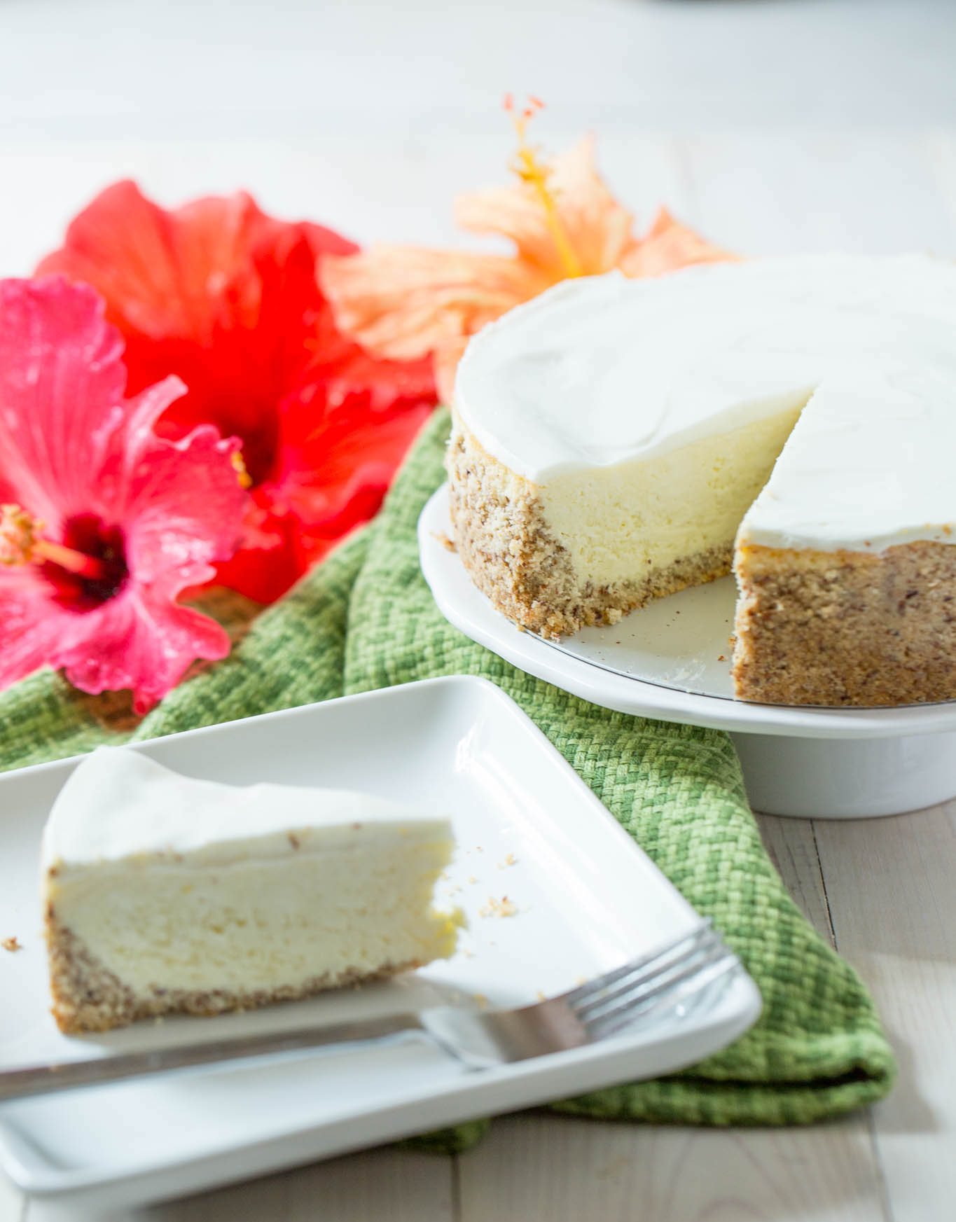 Keto Cheesecake – A Low Carb Cheesecake made in the Instant Pot!