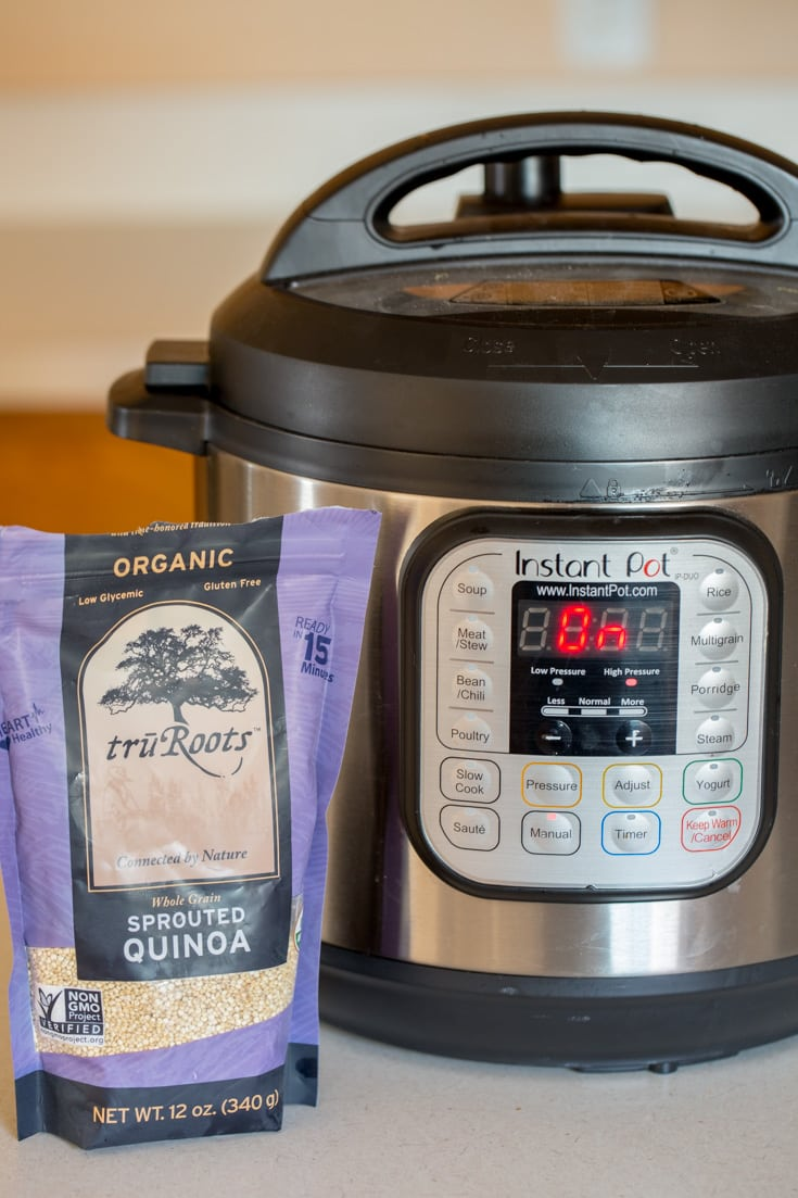Instant pot and quinoa