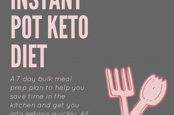 Free 1 week instant pot keto diet meal plan