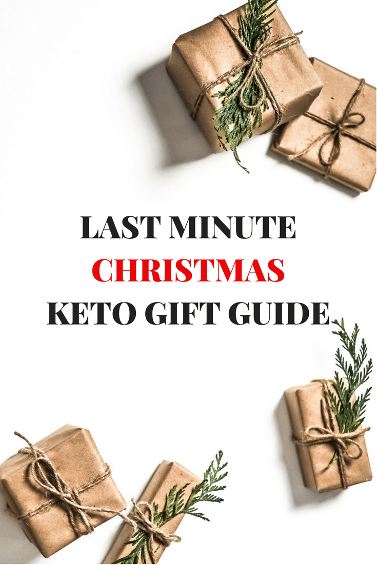 The Best Last Minute Christmas Keto Gift Guide 2017 -