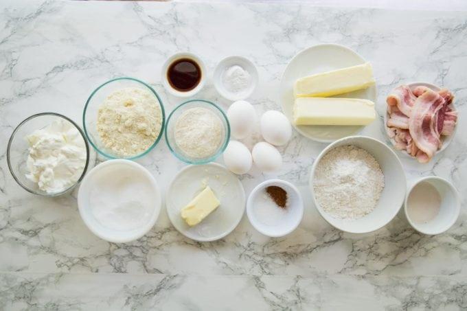 keto cupcake ingredients