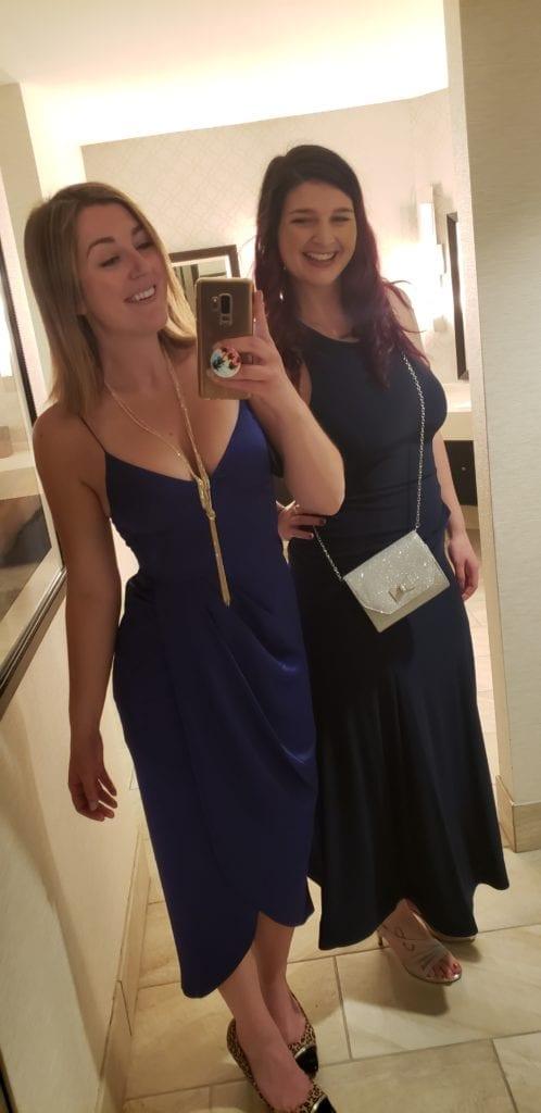 HOF PWBA dinner dresses