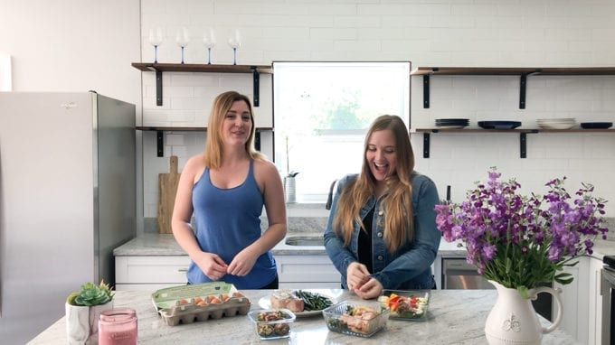 Faith and Lara from the Keto queens