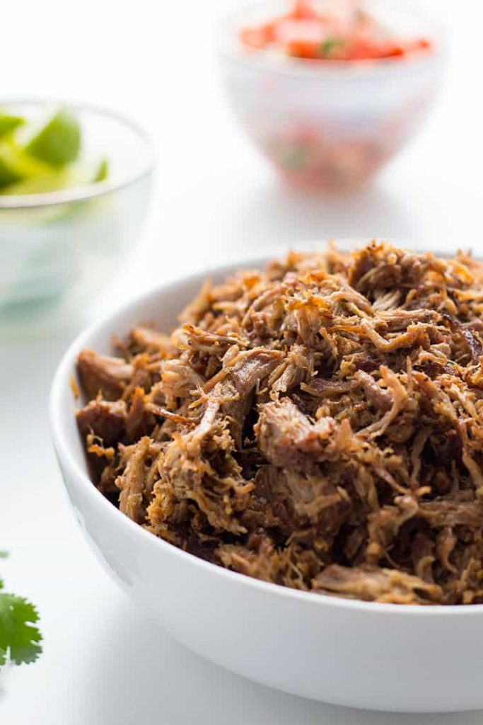 Image of pulled pork carnitas