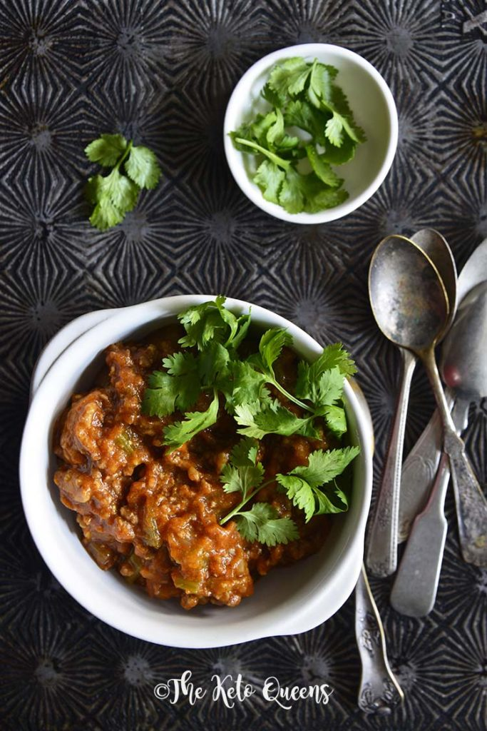 image of beanless chili